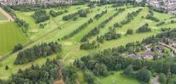 A nav link to Alford Golf Club