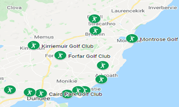 Image showing the Angus Golfing Area