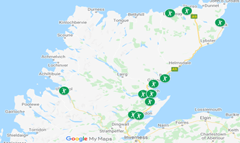 Image with link to Caithness and Sutherland golfing area