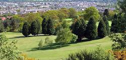 Image showing nav-link to Craigie Hill Golf Club.