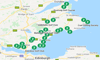 Image link to Fife Golf Clubs and Courses