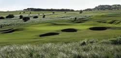 Image showing nav-link to Gullane Golf Club.