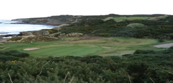 Image showing nav-link to Hopeman Golf Club.