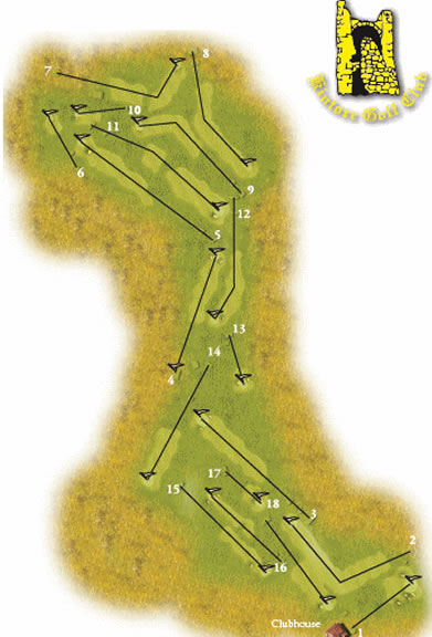 Image Showing Kintore Golf Club Layout