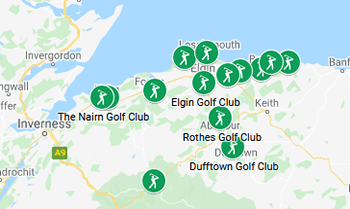 Image with link to Moray and Nairn Golfing Area