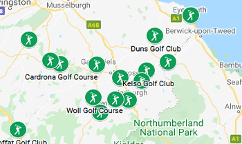 Image with link to Scottish Borders Golfing Area