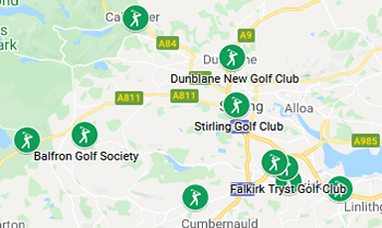 Image with link to Stirling and Clackmannan Golfing Area