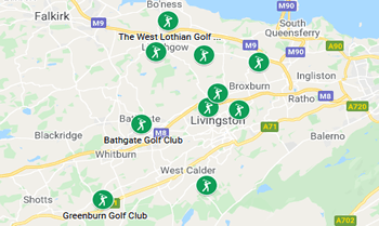 Image with link to West Lothian Golfing Area