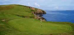 Image showing nav-link to Whalsay Golf Club.