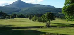 Image showing nav-link to Brodick Golf Club.