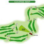 Castle Park Golf Club Course Layout.