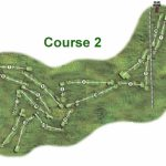 Gullane No2 Course Layout.