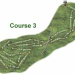 Gullane No3 Course Layout.