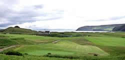 Image showing nav link to Dunaverty Golf Club.