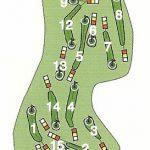Kirkcudbright Golf Club Course Layout.