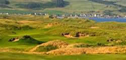 Image showing nav-link to Machrihanish Dunes Golf Club.