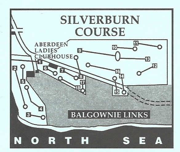 Royal Aberdeen, Silverburn Layout.