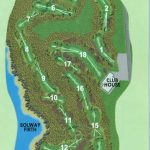 Southerness Golf Club Course Layout.