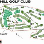 Thornhill Golf Club Course Layout.