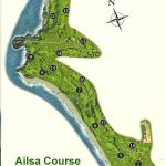 Trump Turnberry Ailsa Course Layout.