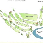 Ullapool Golf Club Course Layout.