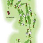 Braehead Golf Club Course Layout.