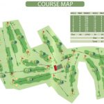 Canmore Golf Club Course Layout.
