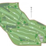 Cathcart Castle Golf Club Course Layout.