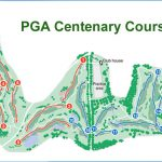 Gleneagles Centenary Golf Course Layout.