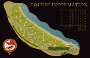 Cullen Golf Club Course Layout.