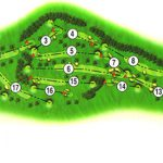 Dunblane New Golf Club Course Layout.