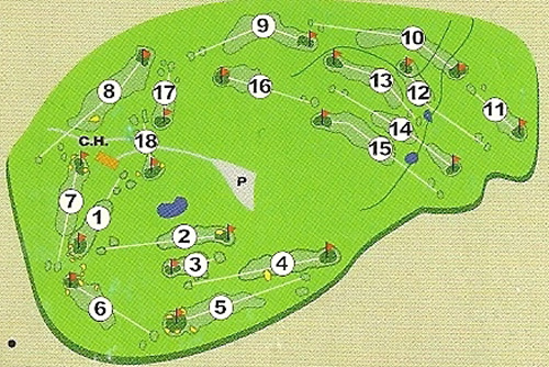 Dunkeld and Birnam Golf Club Course Layout.