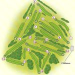 Dunnikier Park Golf Course Layout.