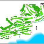 Erskine Golf Club Course Layout.