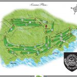 Eyemouth Golf Club Course Layout.