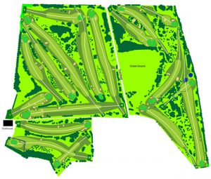 Falkirk Tryst Golf Club Course Layout.
