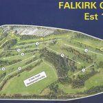 Falkirk Golf Club Course Layout.