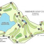 Fereneze Golf Club Course Layout.