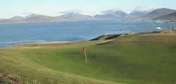 Image showing nav-link to Isle of Harris Golf Club.