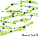 Hawick Golf Club Course Layout.