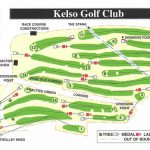 Kelso Golf Club Course Layout.