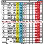 Lochwinnoch Golf Club Scorecard.
