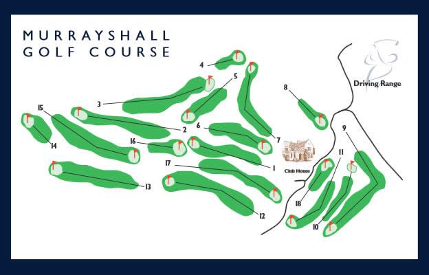 Murrayshall Golf Course Murrayshall Layout.
