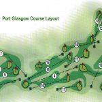 Port Glasgow Golf Club Course Layout.