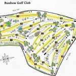 Renfrew Golf Club Course Layout.