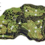 Roxburghe Golf Club Course Layout.