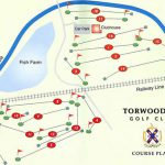 Torwoodlee Golf Club Course Layout.