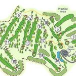 Forres Golf Club Course Layout.