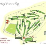 Stirling Golf Club Course Layout.